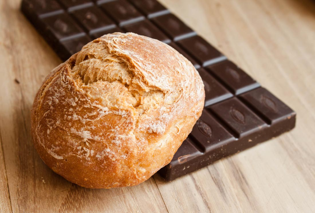 Pan y chocolate, maridaje ideal del aceite de oliva arebquina