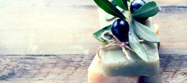 Jabón a partir de aceite de oliva virgen extra