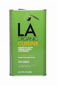 LA Organic Cusine, aceite de oliva virgen extra coupage