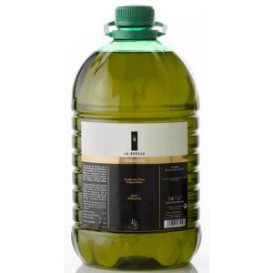 La Boella. Aceite de oliva arbequina, 9 garrafas de 5L